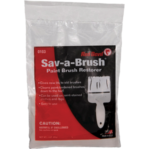 RED DEVIL 0103 3OZ SAV-A-BRUSH RESTORER POWDER