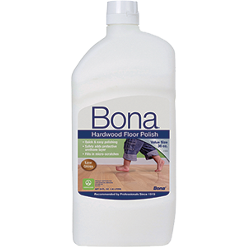 BONA WP500359001 36OZ HARDWOOD LOW GLOSS FLOOR POLISH