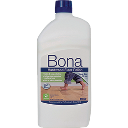 BONA WP510059001 36OZ HARDWOOD HIGH GLOSS FLOOR POLISH