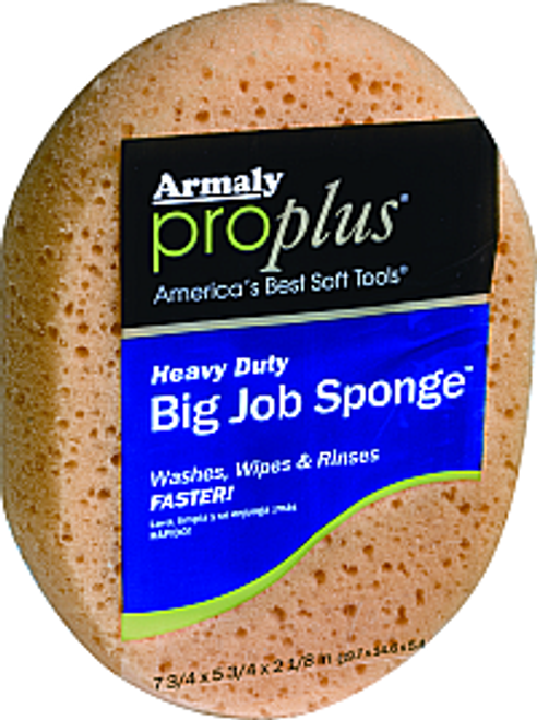 ARMALY 102-00006 OVAL BIG JOB SPONGE