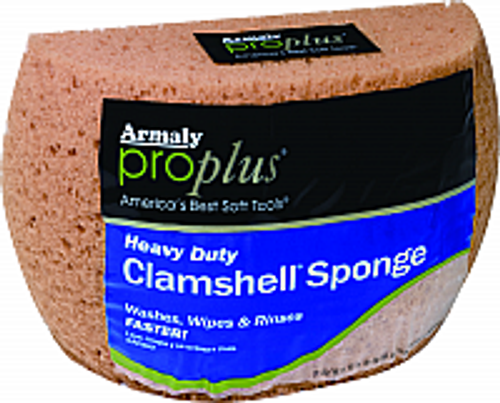 Armaly 102-00008 Large Clamshell Sponge - 6ct. Case