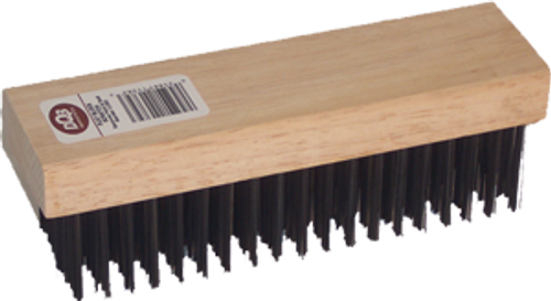 "DQB 11382 7-1/4"" BLOCK WIRE BRUSH"