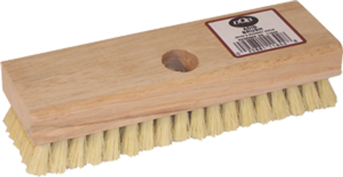 "DQB 11642 8"" TAMPICO ACID BRUSH WITH TAPERED HOLE"