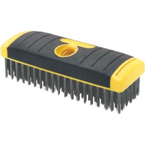 "Allway 12619 SB619 6"" x 9"" Row Wire Brush Soft Grip"