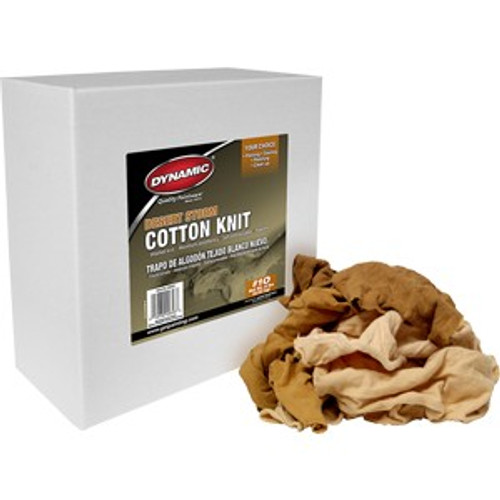Dynamic/Merit Pro 00622 #10 8Lb Box Desert Storm Cotton Wiping Cloth