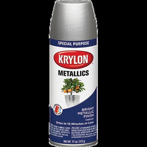 KRYLON 1401 12OZ BRIGHT SILVER SPRAY
