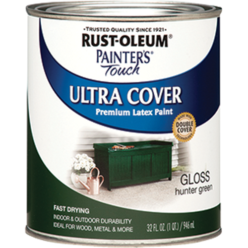 RUSTOLEUM 1938502 QT GLOSS HUNTER GREEN PAINTERS TOUCH