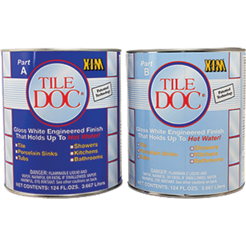 XIM 54021 TILE DOC 2 GAL KIT (KIT CONTAINS 1 GAL OF A & B)