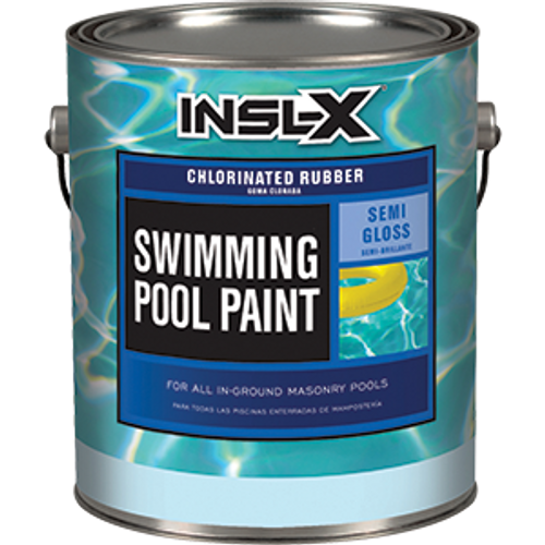 INSLX CR 2610 1G WHITE POOL PAINT CHLORINATED RUBBER