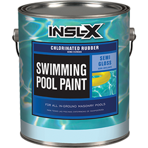 INSLX CR 2624 1G ROYAL BLUE POOL PAINT CHLORINATED RUBBER 565 VOC