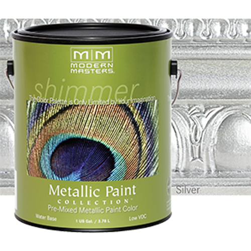 MODERN MASTERS ME150 1G SILVER METALLIC PAINT