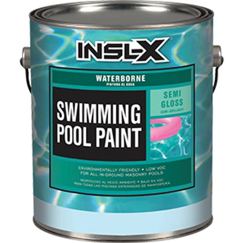 INSLX WR 1019 1G AQUAMARINE POOL PAINT WATERBORNE