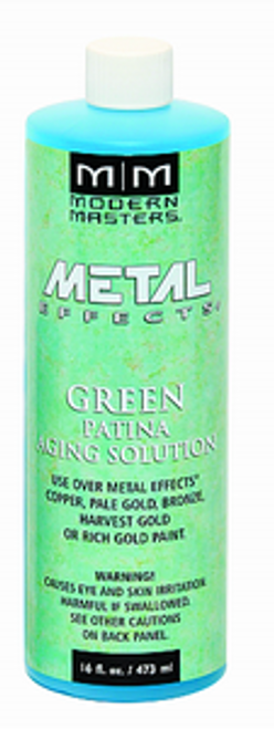 MODERN MASTERS PA901 16OZ GREEN PATINA AGING SOLUTION