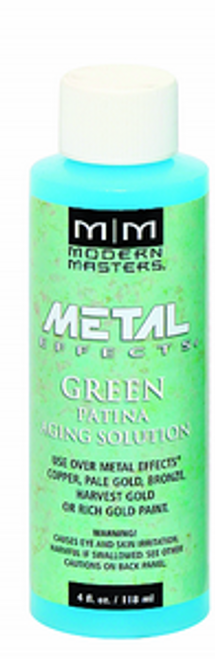 MODERN MASTERS PA901 4OZ GREEN PATINA AGING SOLUTION