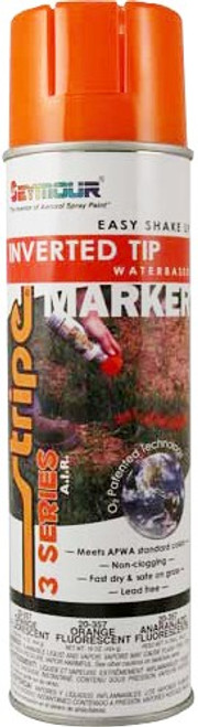 Seymour 20-357 20 oz. (16 oz. Fill) Fluorescent Orange 3 Series Inverted WB Marker