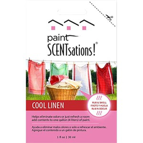 Paint Scentsations 107-01 1 oz. Cool Linen (CLP)