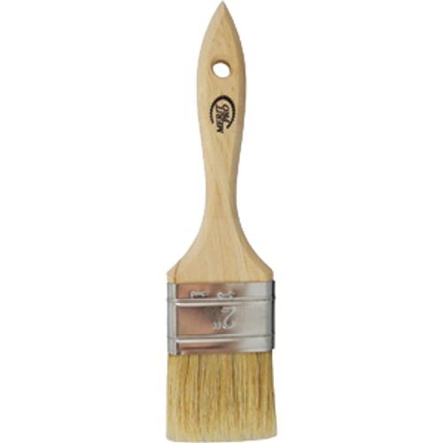 "MERIT PRO 00414 2"" WHITE BRISTLE DOUBLE THICK CHIP BRUSH"