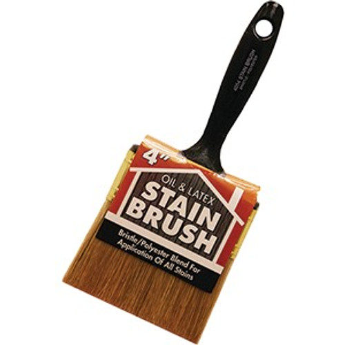 """Wooster 4054 4"""" Oil & Latex Stain Brush"""