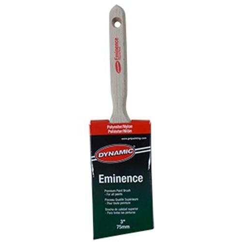 "Dynamic HB187707 75mm (3"") Eminence Angled Sash Polyester Nylon Brush"