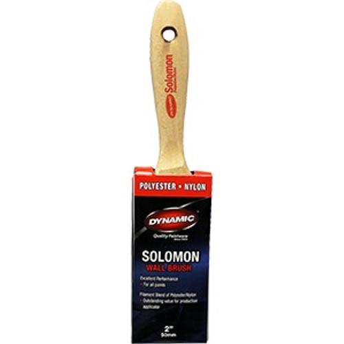 "Dynamic HB199015 50mm (2"") Solomon Flat Beavertail Polyester Nylon Brush"
