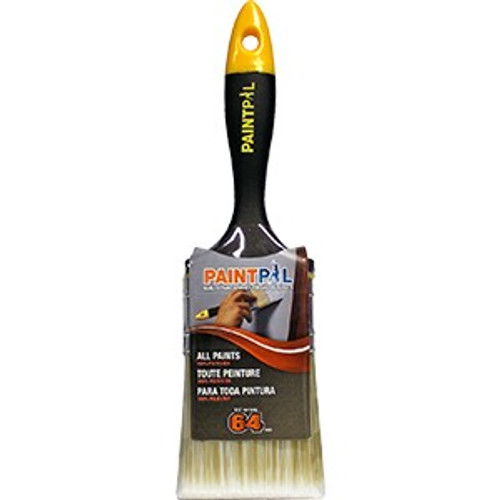 "Paint Pal PAL09806 2-1/2"" Polyester Flat Brush"