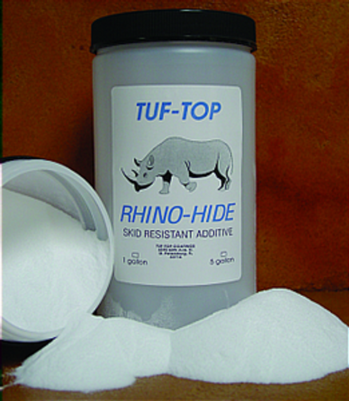 TUF-TOP 42-01 SMALL RHINO HIDE SKID RESISTANT ADDITIVE POWDER GRADE