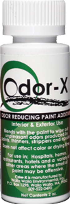 WALLA WALLA 61108 2OZ ODOR REDUCING PAINT ADDITIVE TREATS UP TO 2G ON ALL PAINTS