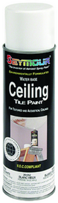 SEYMOUR 20-051 20OZ NEW WHITE CEILING TILE PAINT