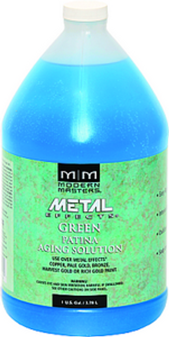 MODERN MASTERS PA901 1G GREEN PATINA AGING SOLUTION