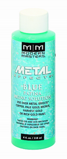 MODERN MASTERS PA902 4OZ BLUE PATINA AGING SOLUTION
