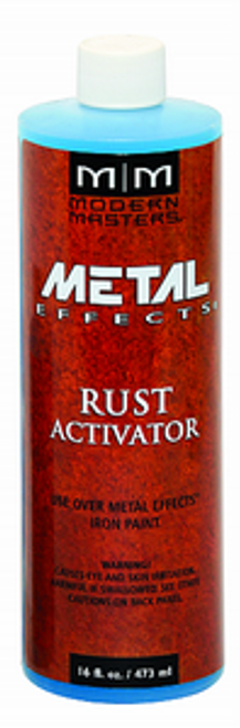 MODERN MASTERS PA904 16OZ RUST PATINA AGING SOLUTION