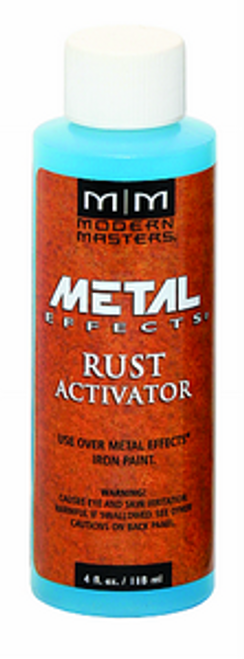 MODERN MASTERS PA904 4OZ RUST PATINA AGING SOLUTION