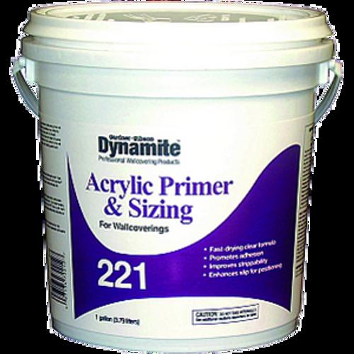 GARDNER GIBSON 7221-3-20 1G DYNAMITE 221 ACRYLIC PRIMER AND SIZING