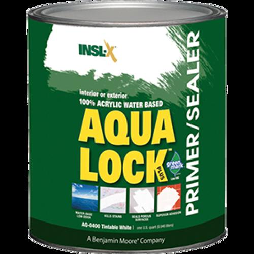 INSLX AQ 0400 QT WHITE AQUALOCK PLUS WATER BASE PRIMER SEALER STAIN KILLER