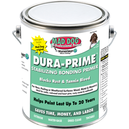 MAD DOG MDP025 QT CLEAR EXTERIOR PRIMER STOPS PEELING RUST AND TANNIN