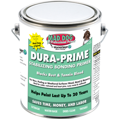 MAD DOG MDP100 1G CLEAR EXTERIOR PRIMER STOPS PEELING RUST AND TANNIN