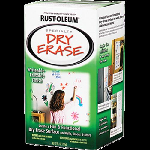 RUSTOLEUM 241140 QT WHITE DRY ERASE BRUSH-ON KIT