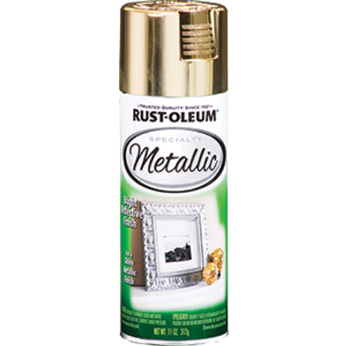 RUSTOLEUM 1910830 11OZ GOLD METALLIC SPECIATLY SPRAY