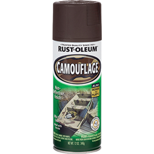 RUSTOLEUM 1918830 12OZ EARTH BROWN CAMOUFLAGE SPECIALTY SPRAY
