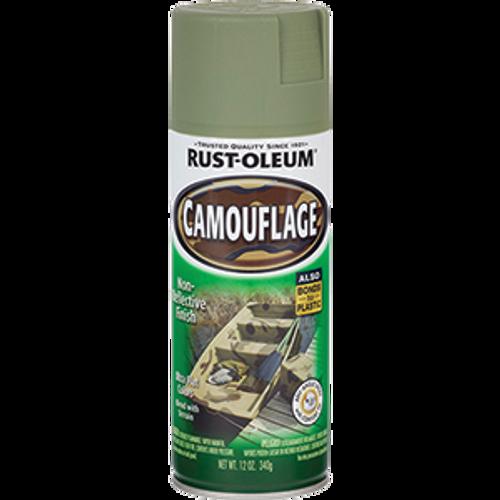 RUSTOLEUM 1920830 12OZ ARMY GREEN CAMOUFLAGE SPECIALTY SPRAY