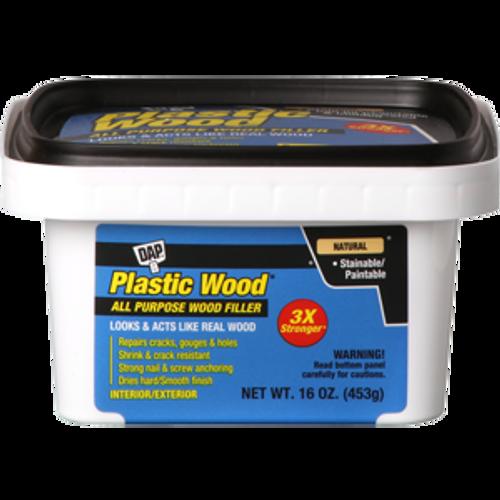 DAP 00527 PT NATURAL LATEX PLASTIC WOOD