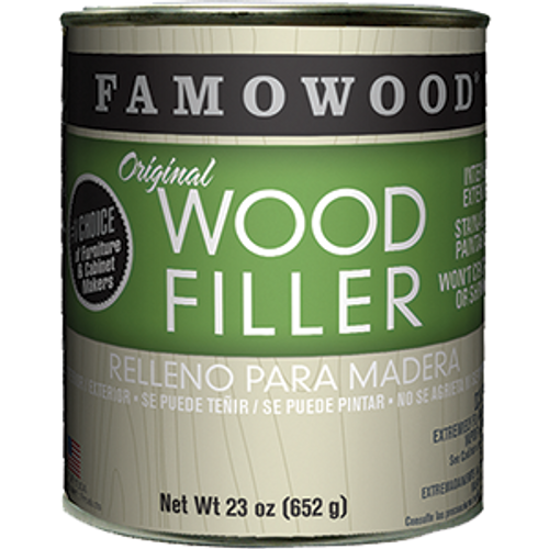 FAMOWOOD 36021148 PT WHITE PINE WOOD PUTTY