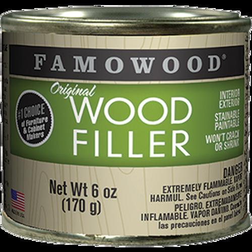 FAMOWOOD 36141122 .25PT MAHOGANY WOOD FILLER