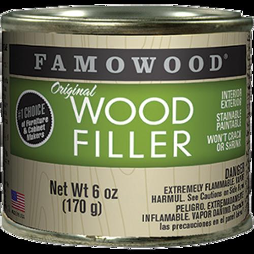 FAMOWOOD 36141126 .25PT NATURAL TUPELO WOOD FILLER