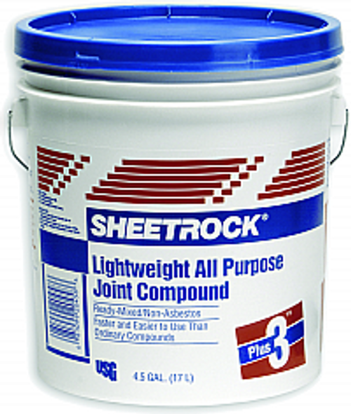 USG 381466 4.5G PLUS-3 LIGHTWEIGHT JOINT COMPOUND BLUE LID