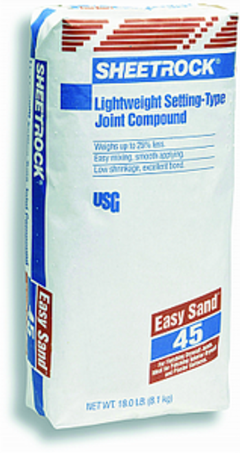 USG 384210 18LB BAG EASY SAND 45 MIN JOINT COMPOUND POWDER