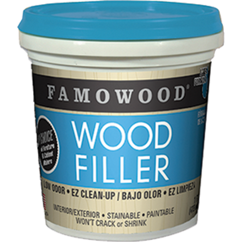 FAMOWOOD 40022106 PT BIRCH SOLVENT FREE WOOD FILLER
