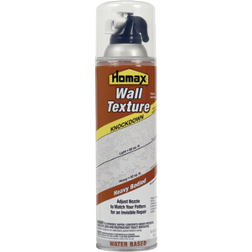 HOMAX 4065-06 20OZ WATER BASED KNOCKDOWN DRYWALL SPRAY TEXTURE