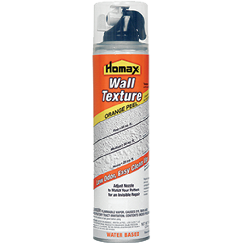 HOMAX 4091-06 10OZ ORANGE PEEL WATER BASED DRYWALL SPRAY TEXTURE