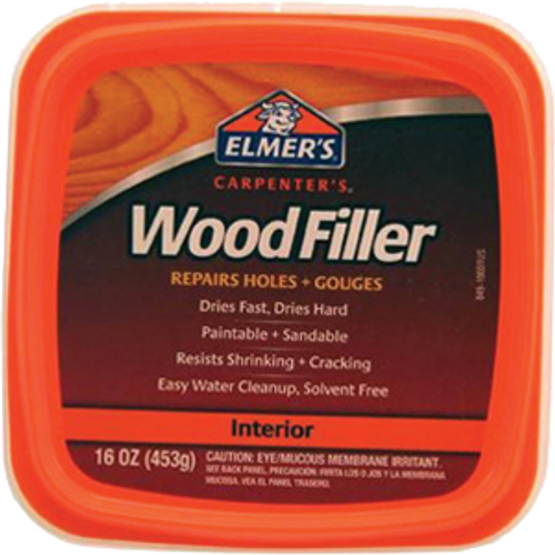 ELMERS E849D8 PT INTERIOR EXTERIOR CARPENTERS WOOD FILLER